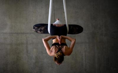 À la découverte du Yoga aérien